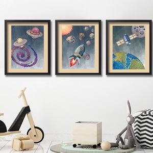 Űrhajós leszek - képek kisfiúknak gyerekszobába, Lakberendezés, Otthon & lakás, Gyerek & játék, Gyerekszoba, Baba falikép, Falikép, Dekoráció, Kép, Fotó, grafika, rajz, illusztráció, Képsorozat leendő űrhajósoknak! Űrhajók, bolygók, üstökösök, meteorrajok, galaxisok, a Hold, a Föld,..., Meska