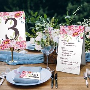 Tíz darabos asztali szett esküvőre, rendezvényre (viori) - Meska.hu