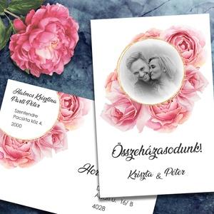 Fényképes esküvői meghívó, Meghívó, Meghívó & Kártya, Esküvő, Fotó, grafika, rajz, illusztráció, Tegyétek egyedivé esküvői meghívótokat a saját fotótokkal! Bármelyik grafikámba belekomponálom a fén..., Meska