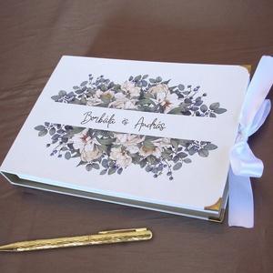 Album, vendégkönyv, emlékkönyv, Esküvő, Emlék & Ajándék, Vendégkönyv, Fotó, grafika, rajz, illusztráció, Könyvkötés, Ezek az albumok használhatóak például esküvőn vendégkönyvként, fényképalbumként, emlékkönyvként, scr..., Meska
