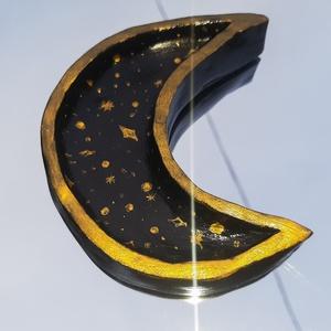 Hold-csillag tálka - ékszer - ékszertartó - ékszertartó állvány - Meska.hu