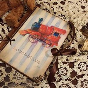 Babanapló, füzet, Jegyzetfüzet & Napló, Papír írószer, Otthon & Lakás, Decoupage, transzfer és szalvétatechnika, Rendelésre készítek A5- ös méretben babnaplókat csodás krémes papírlapokkal,egyedileg köttetett füze..., Meska