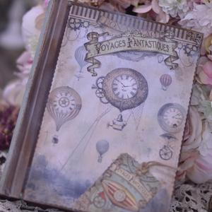 Vintage fotóalbum férfiaknak (is) , Férfiaknak, Naptár, képeslap, album, Otthon & lakás, Fotóalbum, Jegyzetfüzet, napló, Papírművészet, Nosztalgia hangulatú fotóalbumot késztettem, 10x15-ös képeknek, melyekből 200 db -ot helyezhetsz az ..., Meska