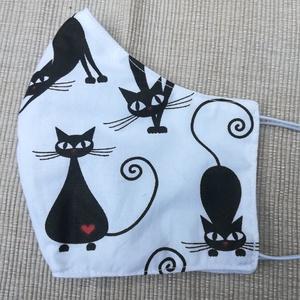 Macskapózok.........szájmaszk, arcmaszk, cicás, mi más? (VODIKA) - Meska.hu
