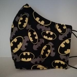 Batman... szájmaszk, arcmaszk, , Férfi & Uniszex, Maszk, Arcmaszk, Varrás, Az újrafelhasználás jegyében készítettem szájmaszkot.\nA maszkok kalapgumival készültek, biztonsági v..., Meska