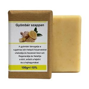 Gyömbér szappan, Szépségápolás, Szappan & Fürdés, Szappan, Szappankészítés, Bemutatom az ellenállhatatlanul  friss, citromos illatú szappanunkat, ezért a valódi citrom illóolaj..., Meska