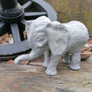 Kerámia elefánt (WHeni) - Meska.hu