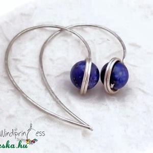 lapis lazuli fülbevaló (windprincess) - Meska.hu