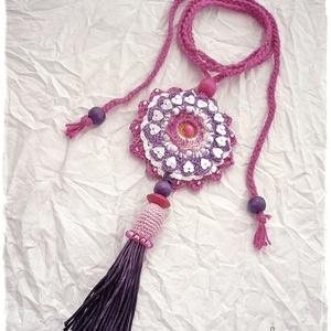 Extravagáns bohém nyaklánc , színes (windprincess) - Meska.hu
