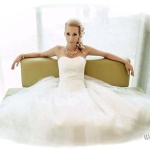 Többsoros gyöngyös -kristályos nyakék  menyasszonyoknak (windprincess) - Meska.hu