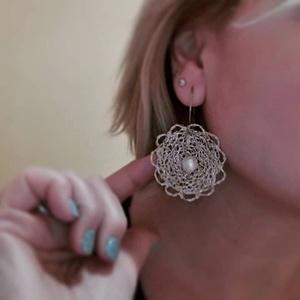 Különleges drótcsipke füli 1. (windprincess) - Meska.hu