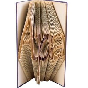 """""""Apa"""" feliratos szülőköszöntő ajándék esküvőre Örömapának, Hajtogatott könyvszobor Apának, Apák napjára, E508, Otthon & lakás, Férfiaknak, Dekoráció, Dísz, Legénylakás, ****ALAP INFORMÁCIÓK**** A hajtogatott könyv ideális ajándéknak bizonyul életünk minden nagyobb esem..., Meska"""