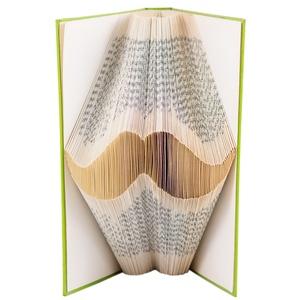 Bajusz alakú hajtogatott könyvszobor - Betyár - Hungarikum - Férfiaknak - Könyvorigami - Szakállas - Apának - E501, Otthon & lakás, Férfiaknak, Dekoráció, Hagyományőrző ajándékok, Papírművészet, Újrahasznosított alapanyagból készült termékek, ****ALAP INFORMÁCIÓK**** A hajtogatott könyv ideális ajándéknak bizonyul életünk minden nagyobb ese..., Meska