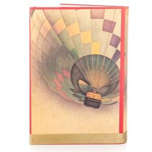 Hőlégballonos külső könyvborító könyvszoborhoz, Rusztikus hangulattal, Utazóknak, Évfordulóra, Otthon & lakás, Férfiaknak, Dekoráció, Lakberendezés, Kép, A különleges hőlégballonos borítót neked találtam ki, ha valami igazán egyedire vágysz.    Ha bármil..., Meska