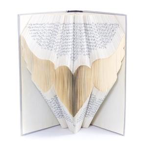 Angyalszárny könyvszobor, Védőangyalnak, Szárnyalás, Szabadság, Egyéb, Otthon & lakás, Hangszer, zene, Dekoráció, Lakberendezés, Hajtogatott könyv vagy más néven könyv origami.    ****ALAP INFORMÁCIÓK**** A hajtogatott könyv ideá..., Meska