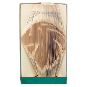 Oroszlán könyvszobor, Horoszkópos ajándék, Állatos könyv origami, Lakberendezés, Otthon & lakás, Dekoráció, Dísz, Papírművészet, Hajtogatott könyv vagy más néven könyv origami. \n\n****ALAP INFORMÁCIÓK****\nA hajtogatott könyv ideál..., Meska