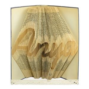 Anya könyvszobor, Szülőköszöntő ajándék örömanyának, Anyák napjára meglepetés, Személyes ajándék karácsonyra, E690, Könyvszobor, Dekoráció, Otthon & Lakás, Papírművészet, ❤️❤️Személyreszabott könyvszobor Édesanyádnak. ❤️❤️\n\nEgyedi elképzelés alapján bármilyen szöveg elké..., Meska