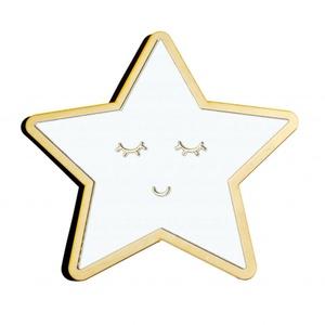 Csillag gyerekbarát tükör, Gyerek & játék, Otthon & lakás, Gyerekszoba, Dekoráció, Lakberendezés, Csillag, saját tervezésű és gyártású Gyerekbarát akril fali tükör   A gyermekek számára készülő tükr..., Meska