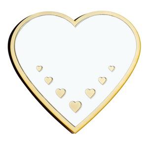 Szív gyerekbarát tükör, Tükör, Dekoráció, Otthon & Lakás, Famegmunkálás, Gravírozás, pirográfia, Szív, saját tervezésű és gyártású Gyerekbarát akril fali tükör \n\nA gyermekek számára készülő tükrök ..., Meska