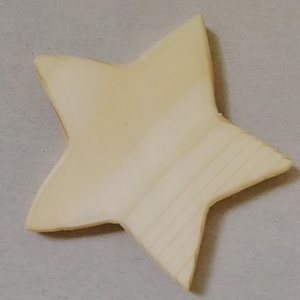 Fa csillag 8 cm, Fa, Egyéb fatermék, Famegmunkálás, Egyéb fa, Asztalos által készített, natúr, kezeletlen fa csillag 8 cm méretben. Anyaga: fenyő. \nTöbbféle techn..., Meska