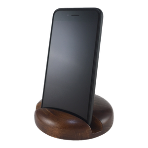 Okostelefon-tartó CLASSIC (bükkfa), Férfiaknak, Otthon & lakás, Egyéb, Lakberendezés, Famegmunkálás, Olajozott, keményfából készített kreatív okostelefon-tartó. Mivel a mobiltelefon a beszélgetésen kív..., Meska