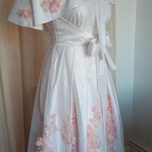 Scarlett ruha, Ruha & Divat, Női ruha, Alkalmi ruha & Estélyi ruha, Varrás, A Scarlett ruha az egyik kedvencem. Elöszőr csak egy egyszerű  corsetes menyasszonyi ruhát akartam k..., Meska