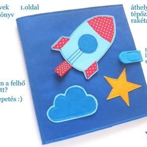 JÁRMŰVEK babakönyv/baba könyv, játszókönyv, babajáték, készségfejlesztő könyv, textilkönyv, Montessori játék, Gyerek & játék, Játék, Készségfejlesztő játék, Baba játék, Baba-mama kellék, Varrás, Játék vagy könyv? Mindkettő :) \n\nEgyedi tervezésű babajáték, interaktív textil babakönyv, készségfej..., Meska