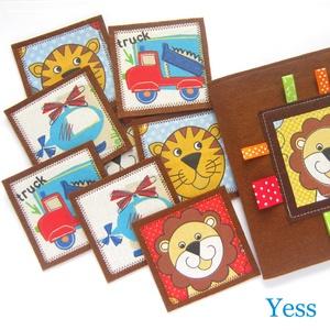 MEMÓRIAJÁTÉK, készségfejlesztő  babajáték, Montessori játék (Yess) - Meska.hu