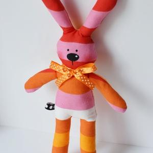 Csíkos Mimi, a maroknyuszi- pink- Újdonság!!! (Yoolee) - Meska.hu