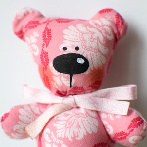 Mico maci, a marokmaci - rózsaszín mintàs (Yoolee) - Meska.hu