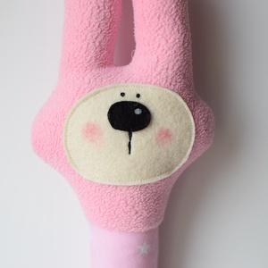 Mimi nyuszi, babacsörgő - rózsaszín (Yoolee) - Meska.hu