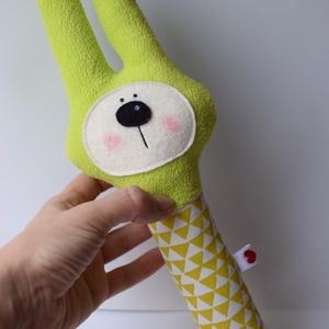 Mimi nyuszi, babacsörgő - zöld (Yoolee) - Meska.hu