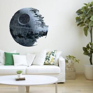 Star Wars halálcsillag mintás falmatrica, Otthon & Lakás, Dekoráció, Falmatrica & Tapéta, Fotó, grafika, rajz, illusztráció, Star Wars halálcsillag mintás falmatrica\n\nMérete kb. 45x45 cm\n\nKészleten van, bármikor rendelhető!\n\n..., Meska