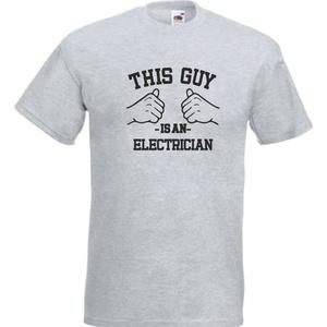Electrician, elektrikus, villanyszerelő mintás póló, Ruha & Divat, Férfi ruha, Póló, Fotó, grafika, rajz, illusztráció, Egyedi kérésre készítjük,\n\naz általad választott fazonú (női, férfi, gyerek), színű és méretű pólóra..., Meska