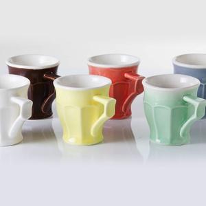 yutta 6 darabos 0,5 dl-es füles csésze készlet, Konyhafelszerelés, Otthon & lakás, Bögre, csésze, Kerámia, yutta 6 darabos 0,5 dl-es füles csésze készlet\n\nszínek: fehér, barna, citromsárga, narancssárga, zöl..., Meska