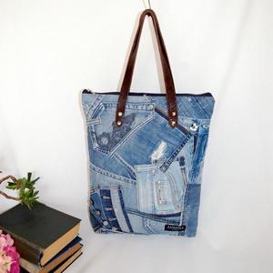 Farmer női táska - KAVITA, Táska & Tok, Kézitáska & válltáska, Válltáska, Ez a minőségi, újrahasznosított alapanyagokból készült táska remek társa lehet egy stílusos nőnek, e..., Meska
