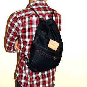 Gym Bag - Paul Smith farmer hátizsák , Táska & Tok, Biciklis & Sporttáska, Sporttáska, Ez az újrahasznosított alapanyagokból készült hátizsák tökéletesen megfelel bringázáshoz vagy sportc..., Meska