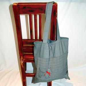 Bevásárló táska , Táska & Tok, Kézitáska & válltáska, Nagy pakolós táska, Ezt az újrahasznosított anyagból készült táskát úgy terveztem, hogy a lehető legtöbb dolgot bele tud..., Meska