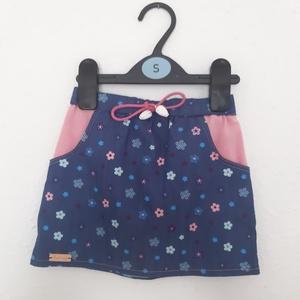 Szoknya, Szoknya, Babaruha & Gyerekruha, Ruha & Divat, Varrás, Egyedi, igazi kis nyári mintás szoknyát készítettem kb 1-1,5 éves babára. A szoknyát rózsaszín pamut..., Meska