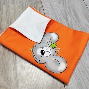 Egeres pelenkázó alátét, Otthon & Lakás, Lakástextil, Ágynemű, Varrás, A pelenkázóalátét két rétegű: az egyik oldala egeres 100% pamutvászon. A másik oldala fehér Pur frot..., Meska