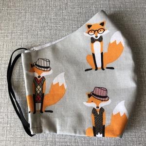 Szájmaszk Lord Fox (zoe0816) - Meska.hu
