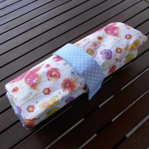 Színes pillangós-virágos toll/színes ceruza tartó  (ZoeCollection) - Meska.hu