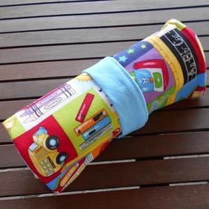 Toll/színes ceruza tartó (suli-buli) (ZoeCollection) - Meska.hu