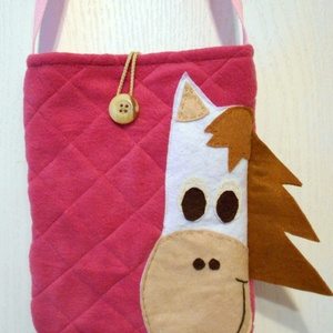 Lovas táska (pink) (ZoeCollection) - Meska.hu