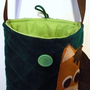Lovas táska (olaj zöld) (ZoeCollection) - Meska.hu