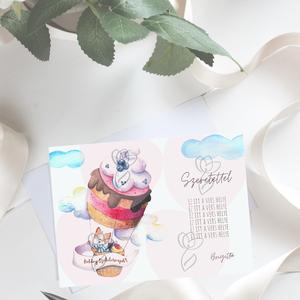 Boldog szülinapot! képeslap, Képeslap & Levélpapír, Papír írószer, Otthon & Lakás, Mindenmás, A6 méretű, egyedi kivitelezésű képeslap, születésnapra\n\nPapír\n220 g-os minőségi, környezetbarát öko ..., Meska