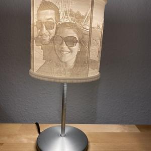 Litofán lámpa egyedi képekkel - kör alakú (zomeow) - Meska.hu