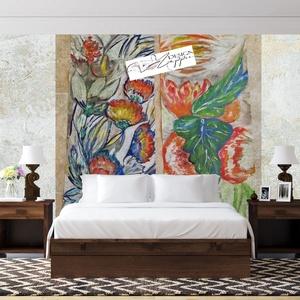 2x 29,9x69 cm (kifutó nélkül) egyedi falikép (eredeti) vagy  50 dedikált másolat, Otthon & lakás, Képzőművészet, Teljesen egyedileg tervezett 2 képből álló - még  tudomásom szerint - nem alkalmazott vegyes  techni..., Meska