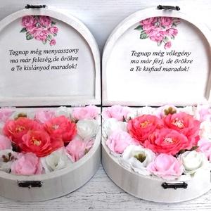 2db Szöveges szőköszöntő ládika (ZsanPhilip) - Meska.hu