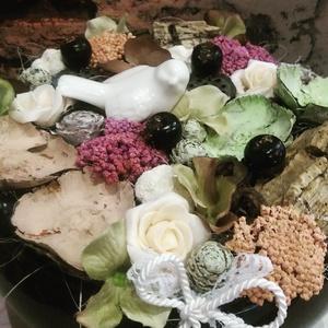 Tavaszi asztaldísz (Zsart) - Meska.hu